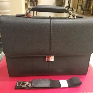 Bally Leather Briefcase